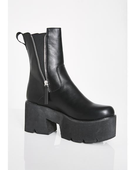 Ain't Trippin' Platform Boots