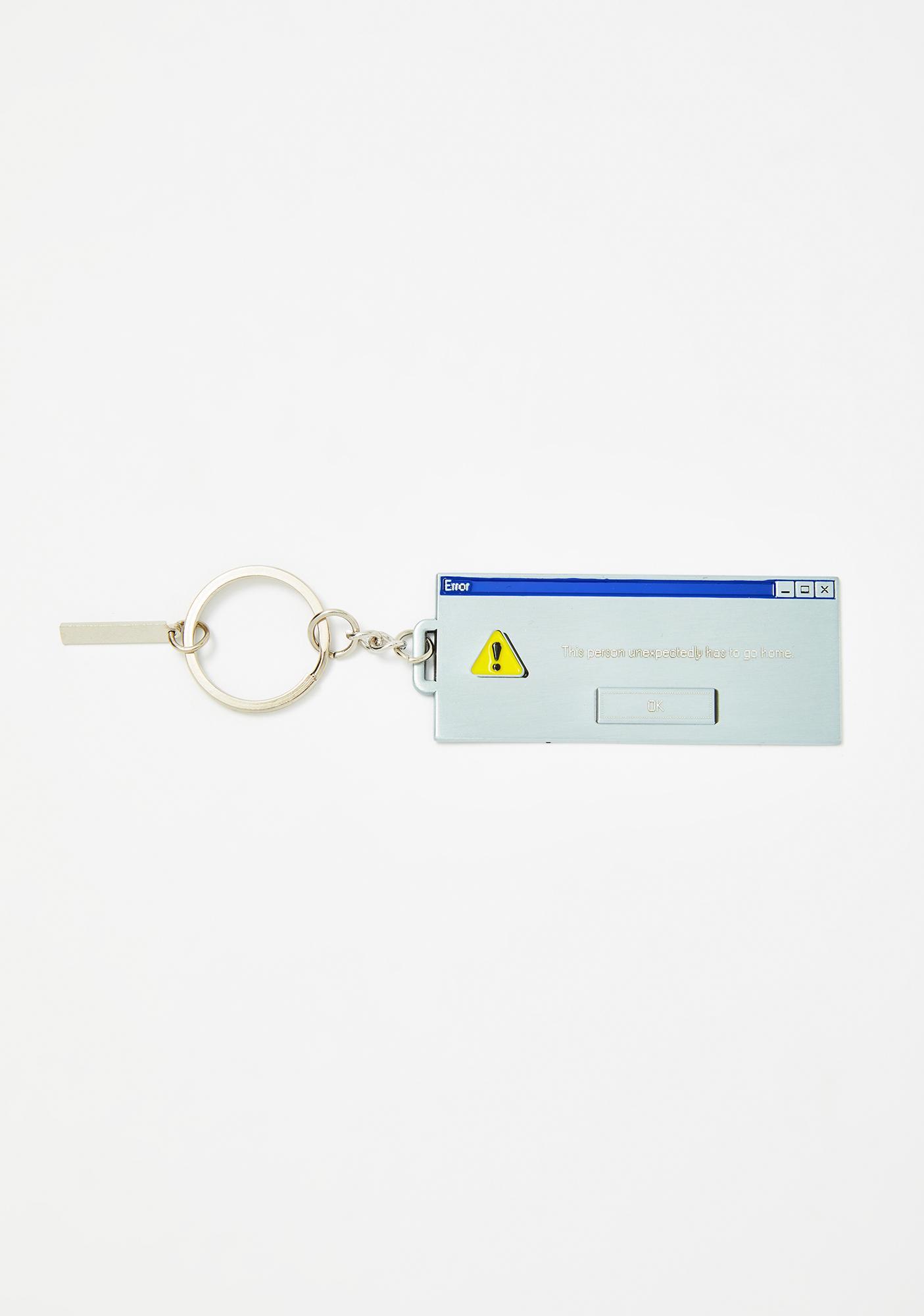 Studio Cult Error Go Home Keychain