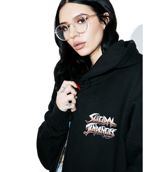 Suicidal Tendencies World Gone Mad Zip-Up Hoodie