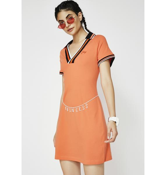 JUICY COUTURE Jersey Polo Dress
