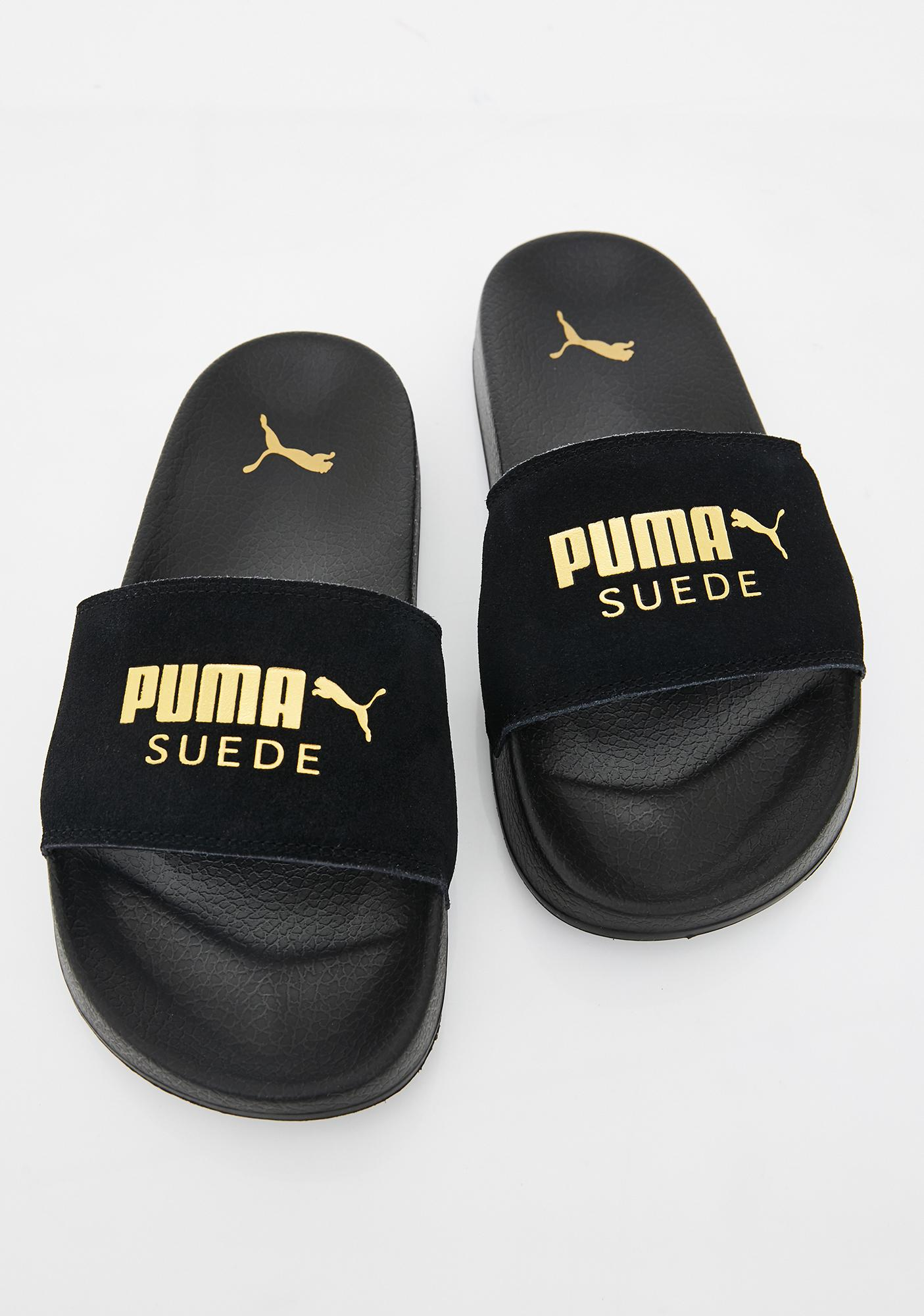 PUMA Suede Leadcat Slides
