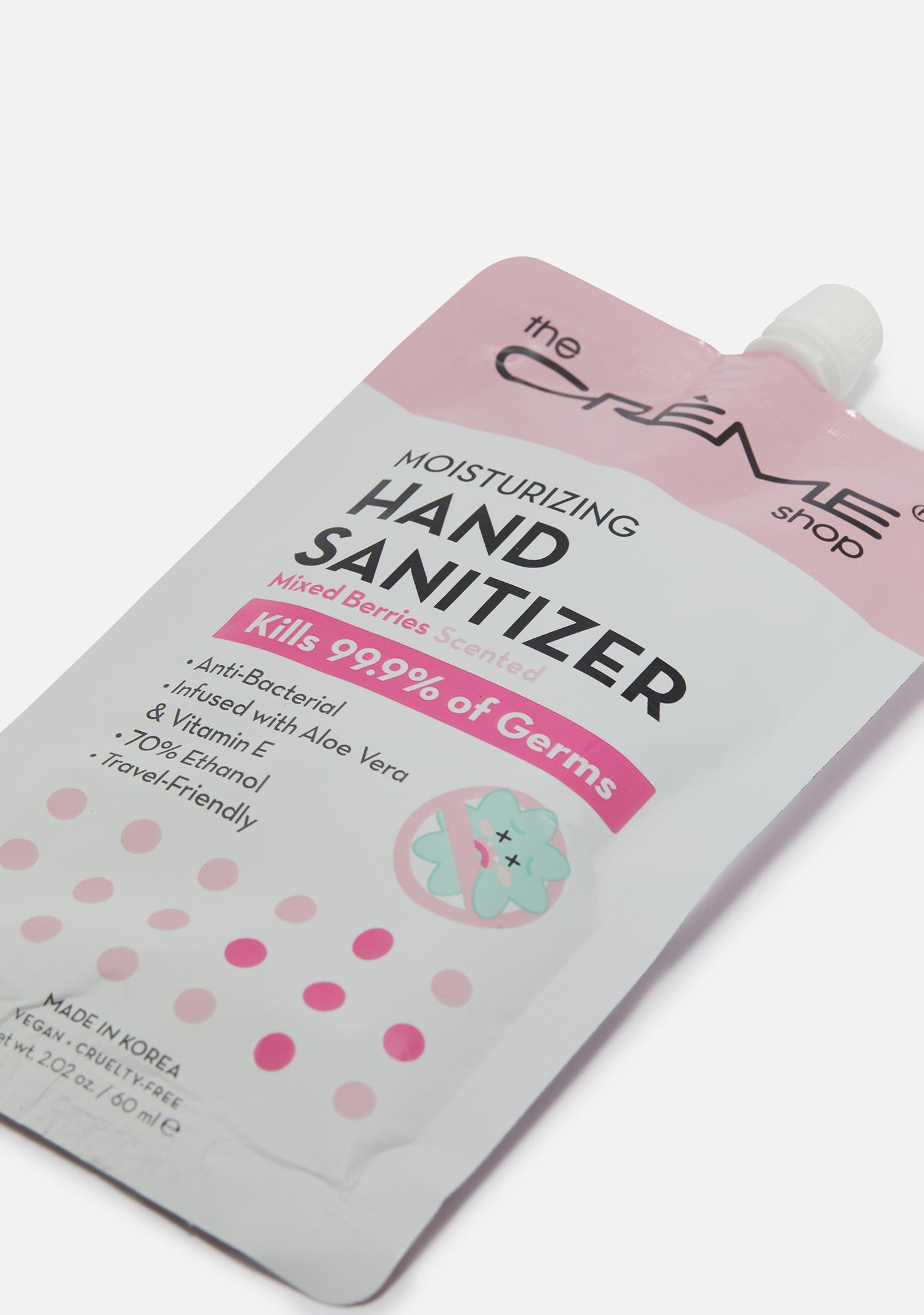 The Crème Shop Mixed Berries Moisturizing Hand Sanitizer