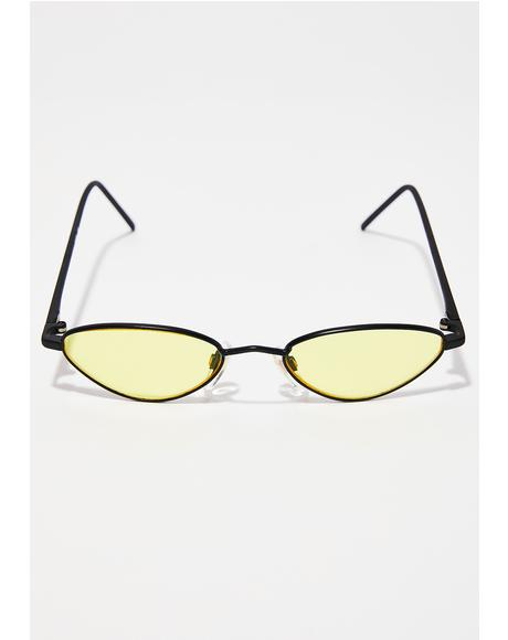 Truly Radiant Cat Eye Sunglasses