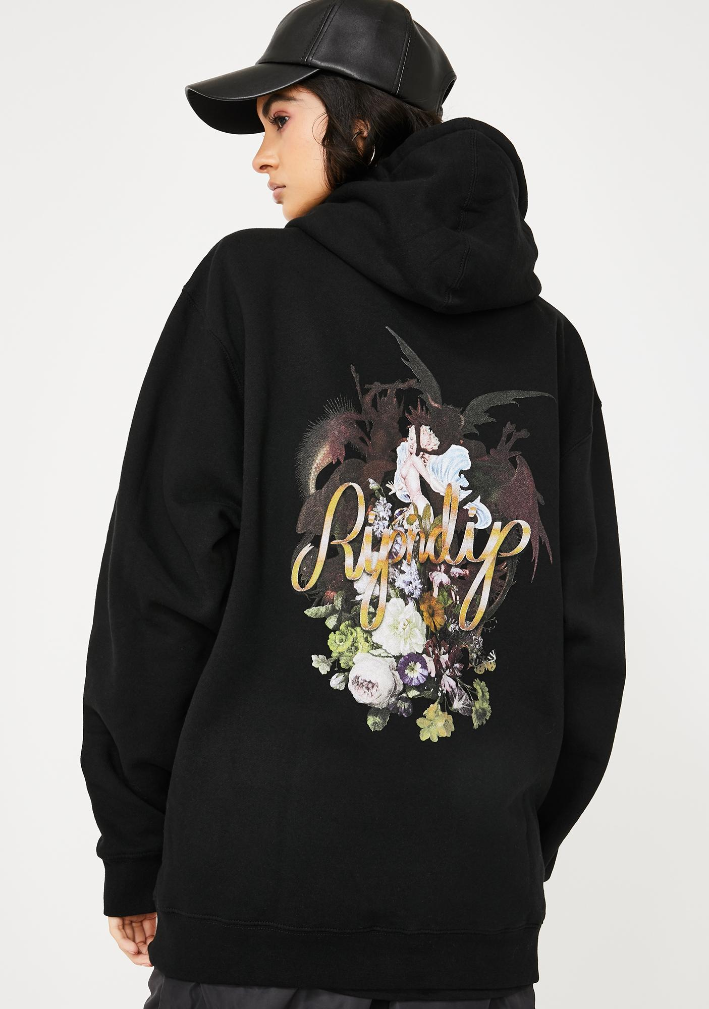 RIPNDIP Angel N' Devil Graphic Hoodie