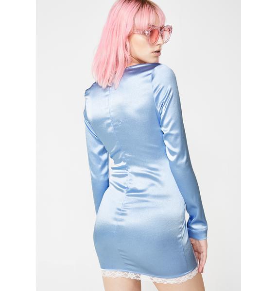 O'Dolly Dearest Blue Skies Ahead Mini Dress