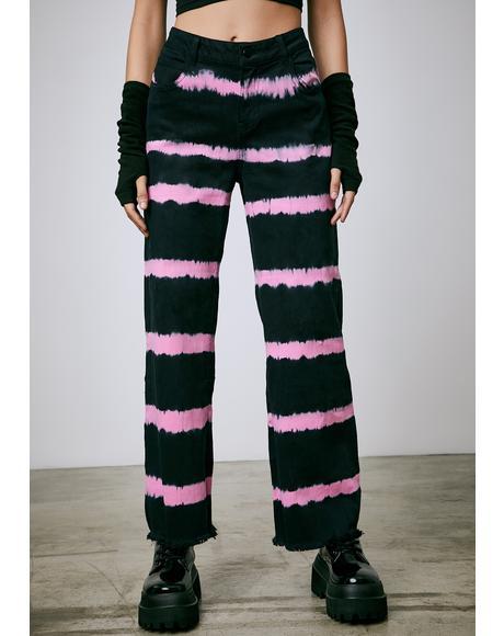 Radioactive Love Tie Dye Jeans