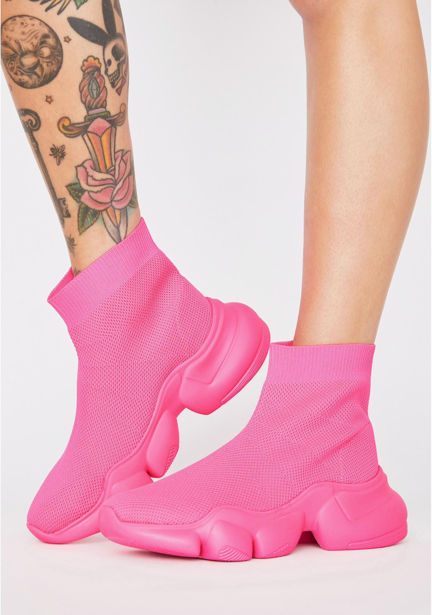 Candy Clout Command Sock Sneakers