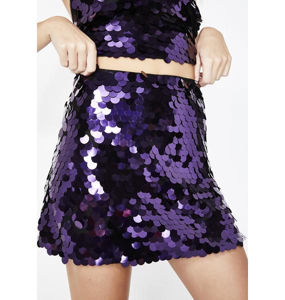 Motel Pour Up Weaver Skirt
