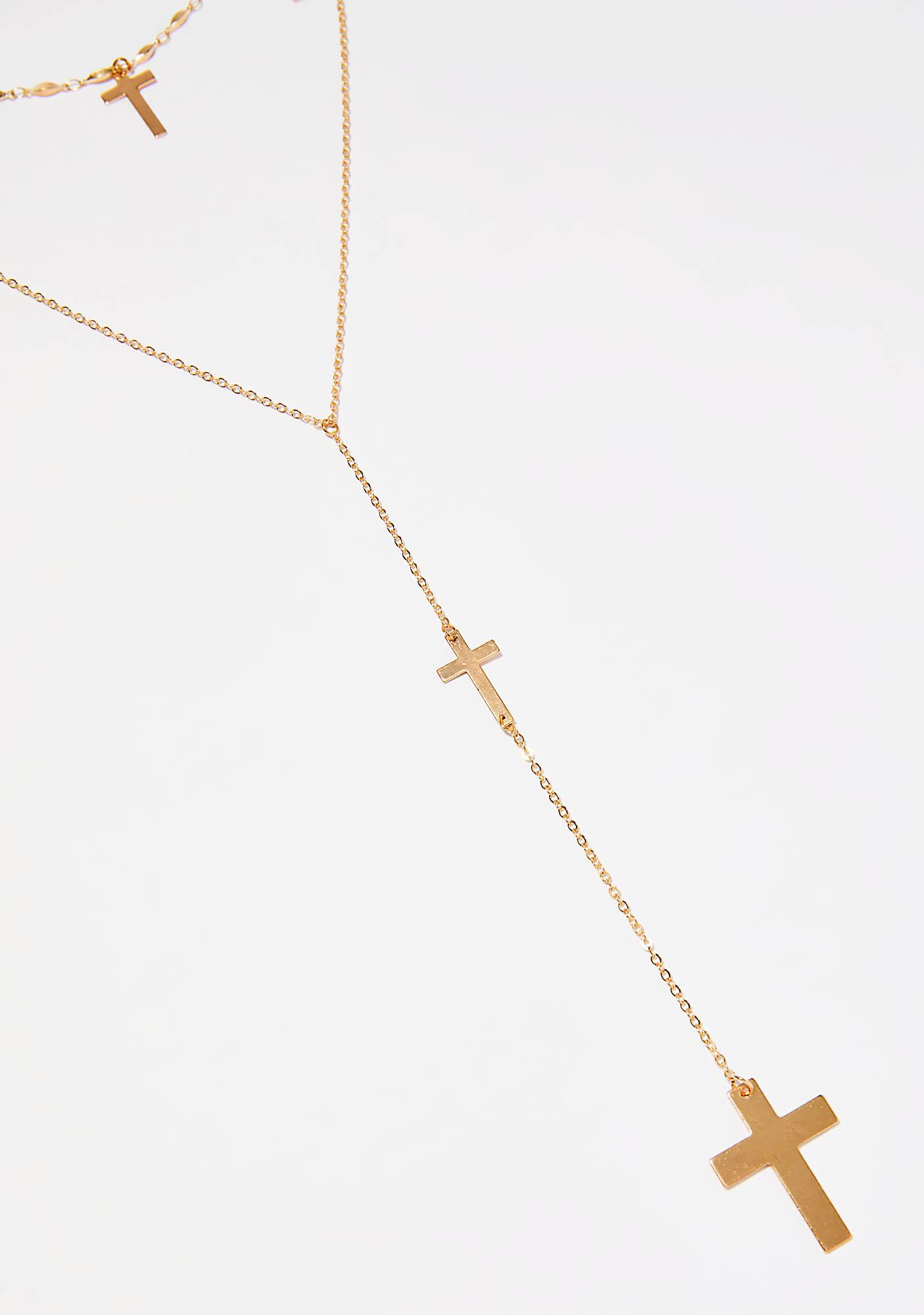 Pray 4 You Layered Necklace