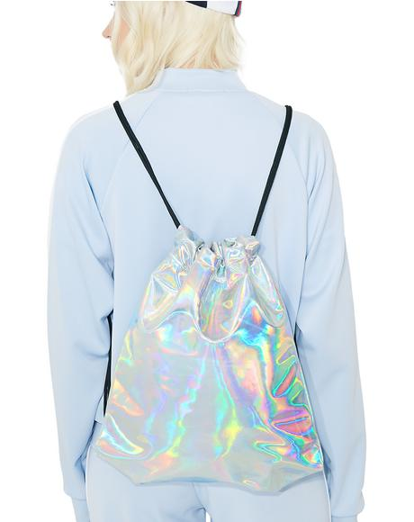 Cosmic Adventure Drawstring Backpack