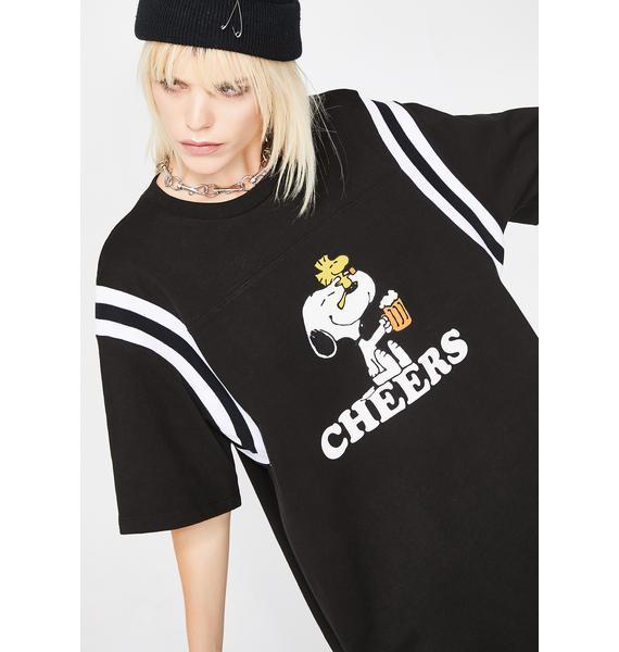 HUF Peanuts Cheers Football Jersey
