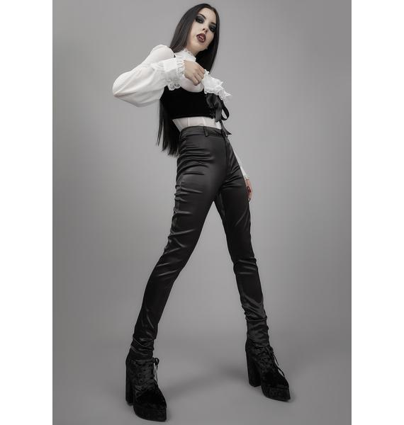 Widow Darkest Descent Satin Pants