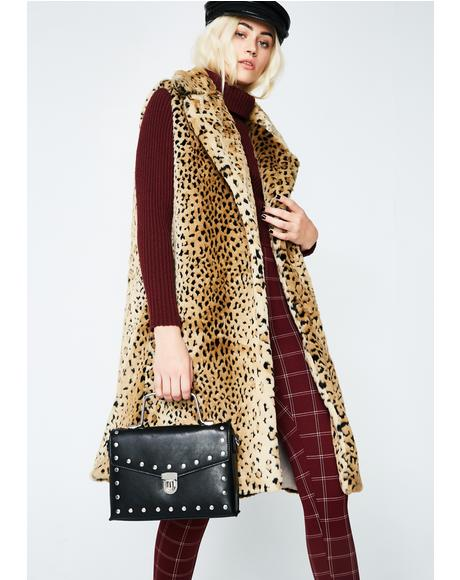 Cougar Instincts Furry Vest