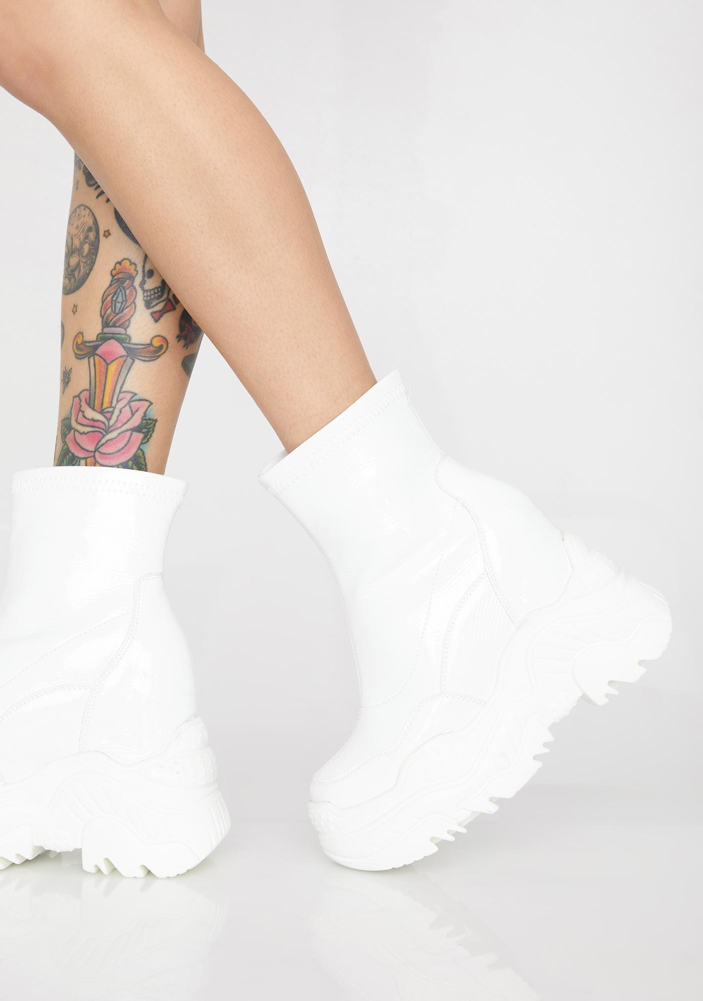 Boo Insta Worthy Wedge Boots