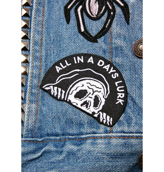 Sketchy Tank Lurker Iron-On Patch