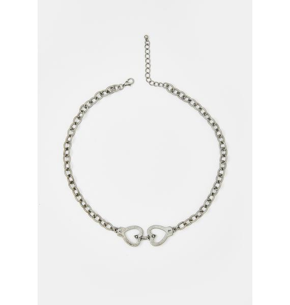 Cuffed Or Crushed Chain Choker