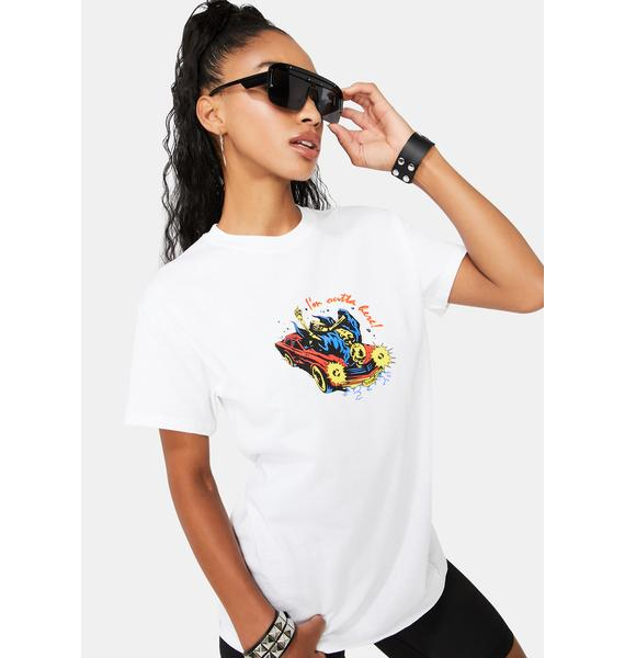 Playdude Outta Here Graphic Tee