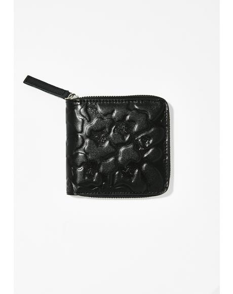 Jerm Blackout Camo Zip Wallet