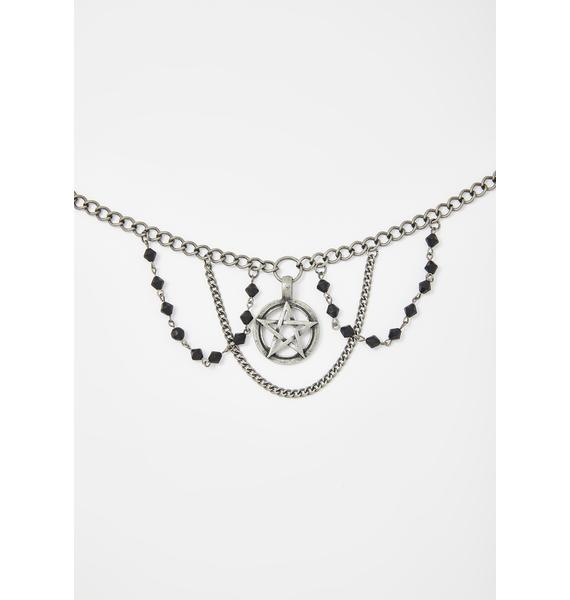 Same Ol' Witches Chain Link Necklace