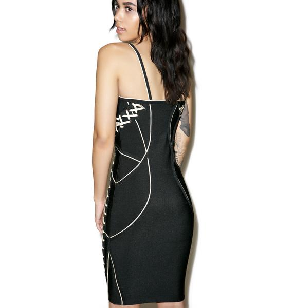 Fully Laced Bodycon Dress