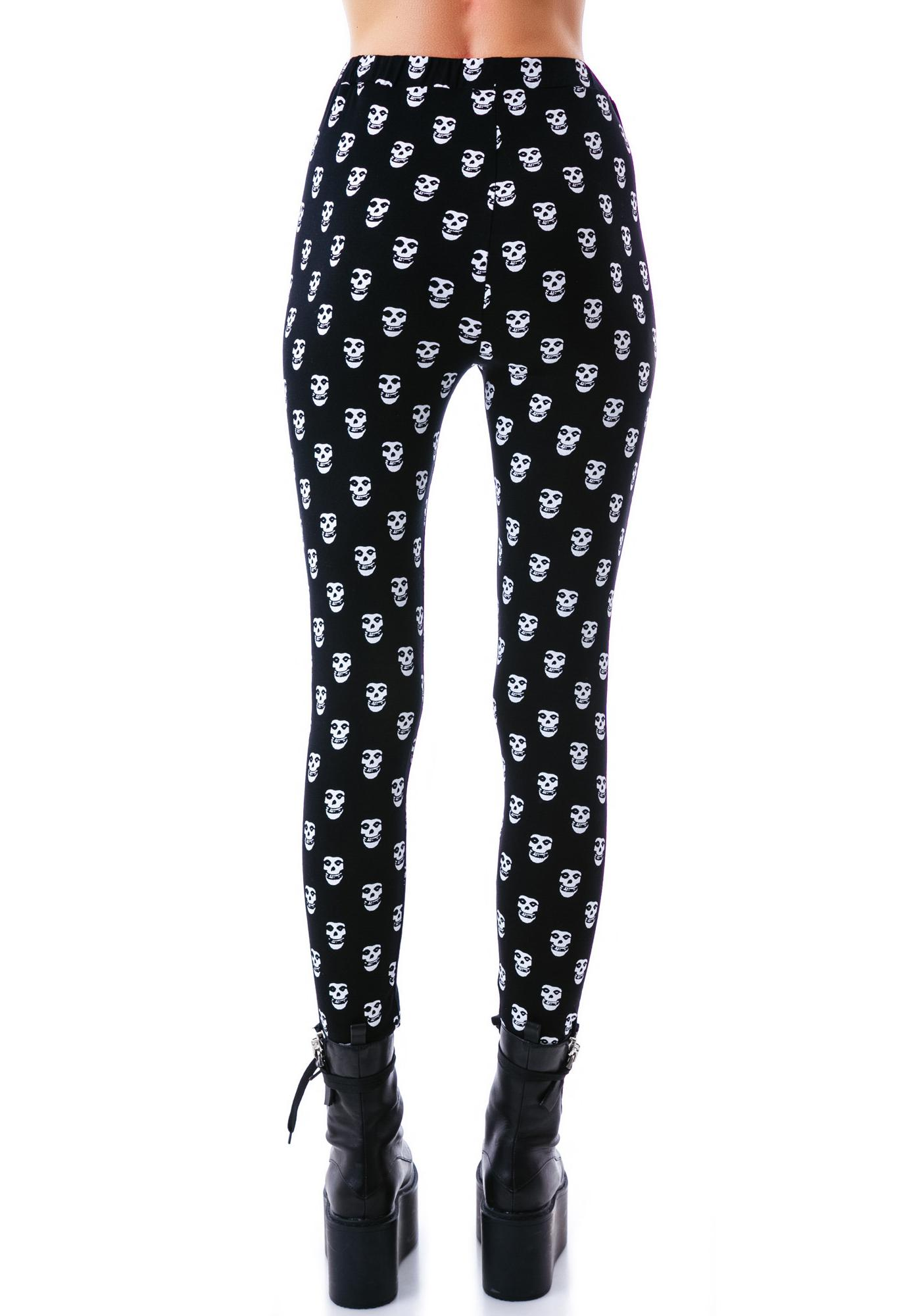 Sourpuss Clothing Misfits Leggings