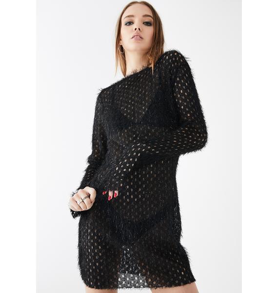 Kiki Riki Lovable Fiend Fuzzy Dress