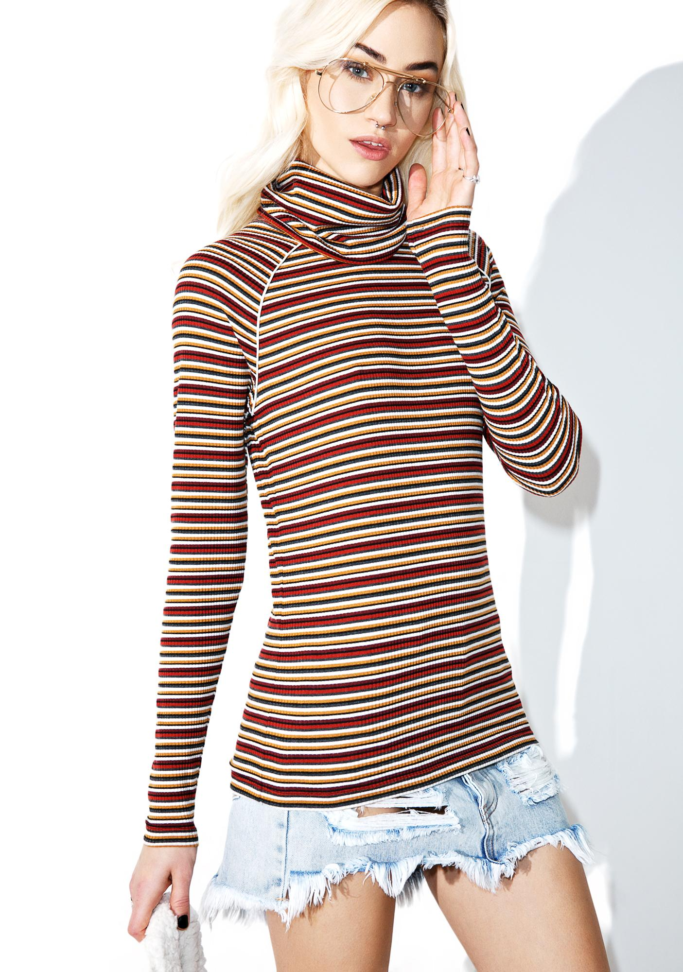 Camp Collection Nancy Turtleneck