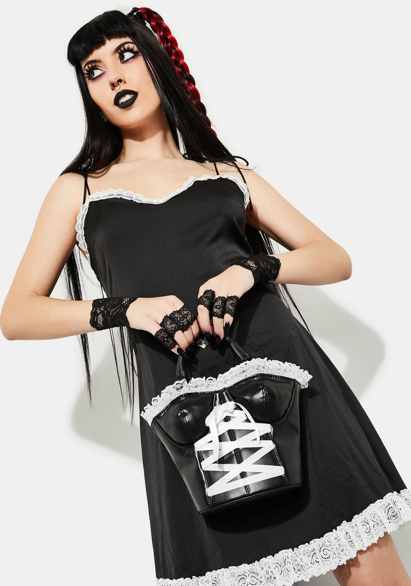 Current Mood Wicked Games Corset Handbag