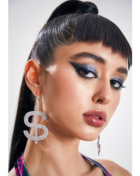 Expensive Taste Rhinestone Earrings