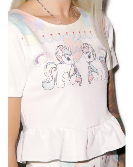 Pony Up Short Sleeve Top