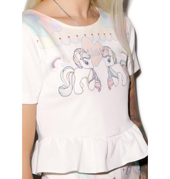 Pony Up Short Sleeve Top