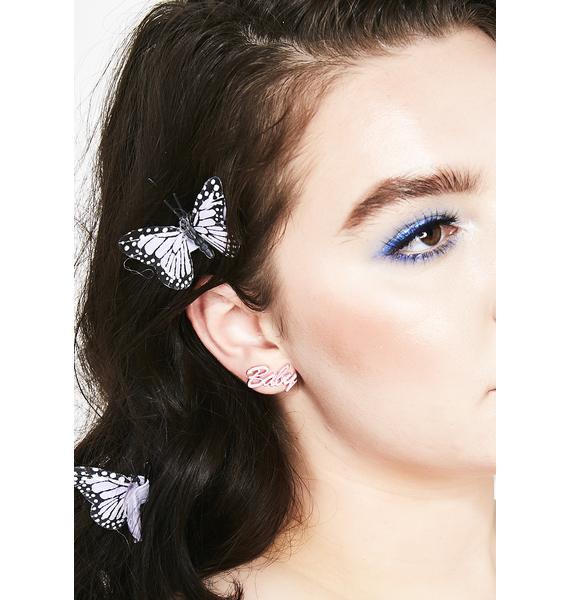 Bby Gurl Stud Earrings