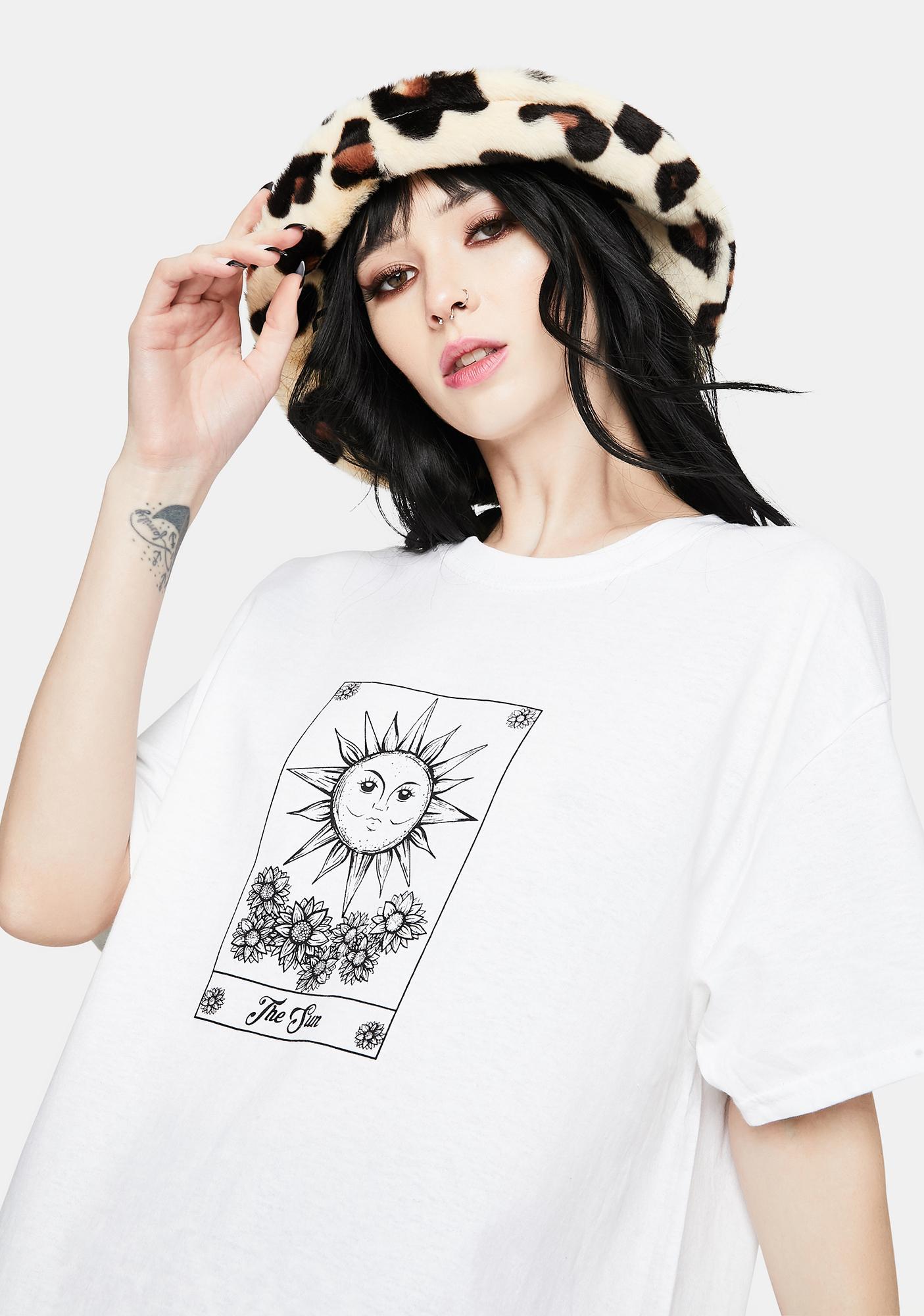 Daisy Street Sun Tarot Graphic Tee