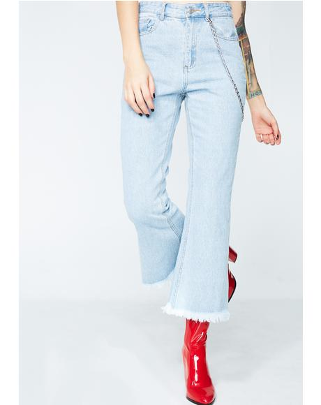 Groovin' Crop Jeans