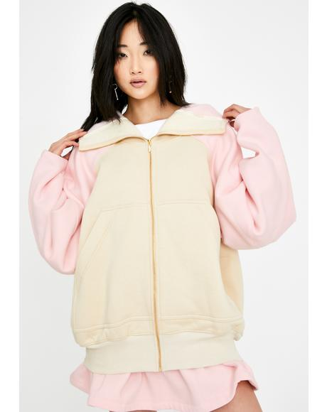 Strawberry Vanilla Brooklyn Zip-Up Hoodie