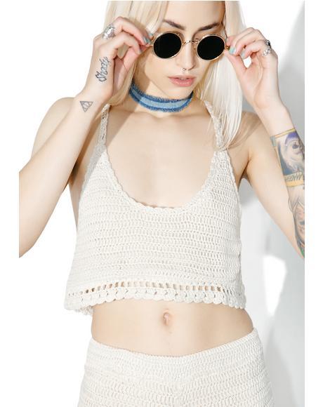 Salinas Crochet Top