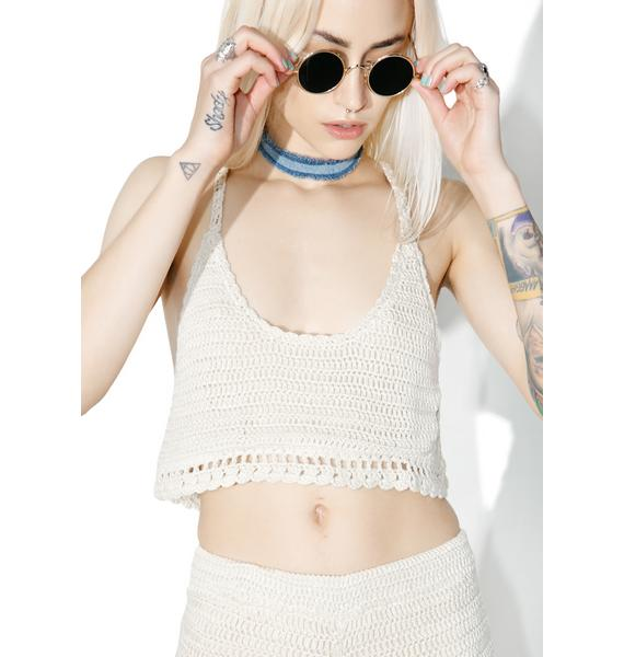 Lira Clothing Salinas Crochet Top