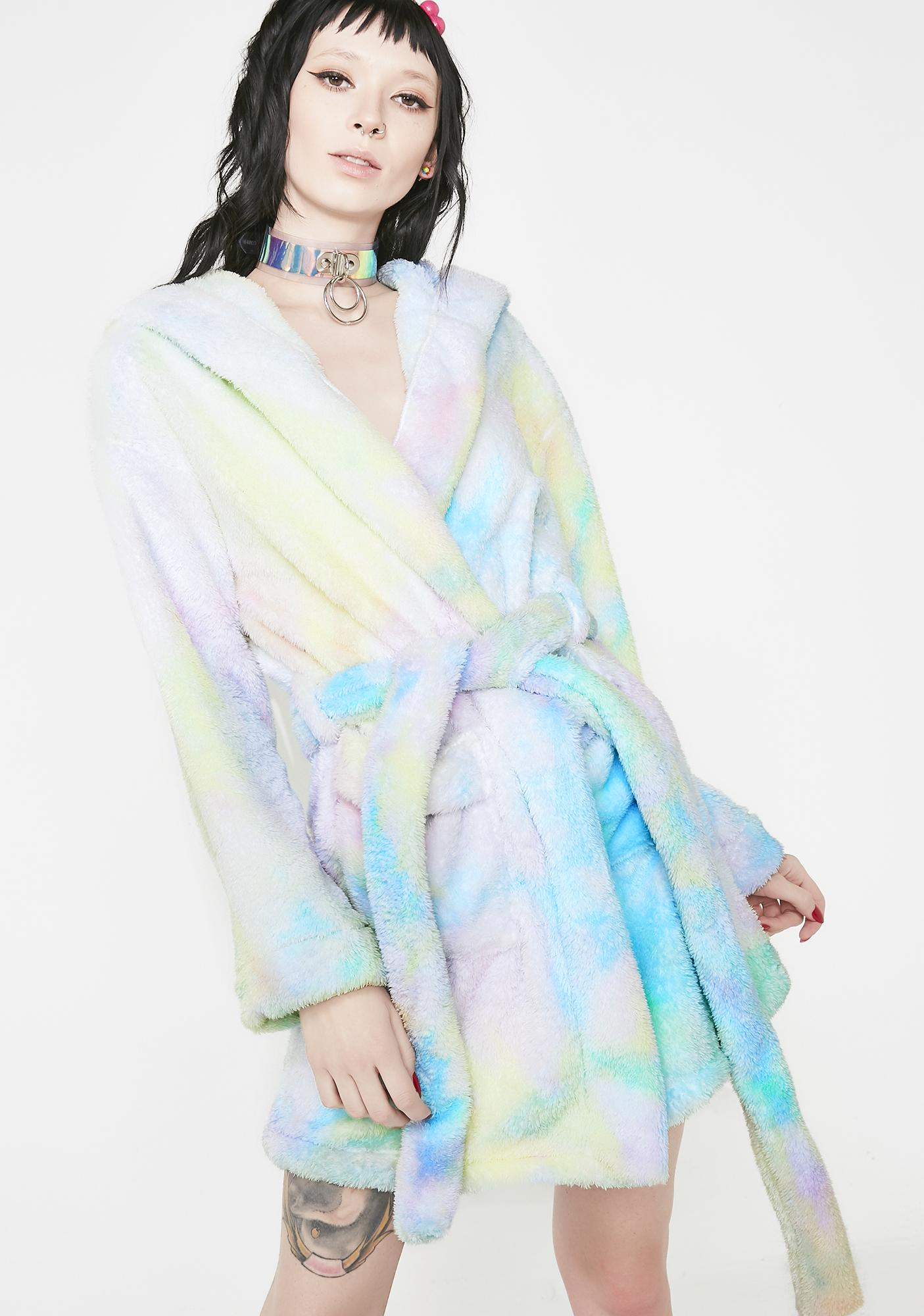 Pixie Moonshine Tie Dye Robe by Current Mood
