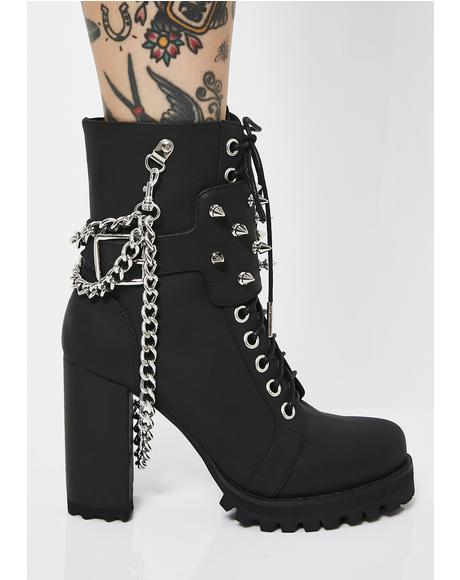 Wilder Life Spiked Boots