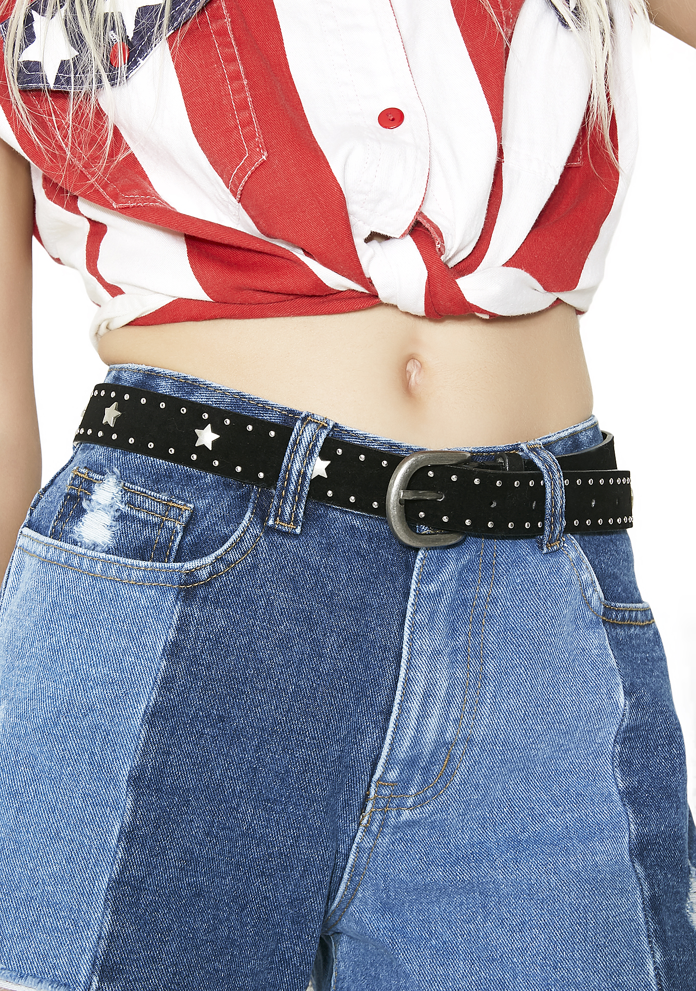 Wide Open Spaces Studded Belt