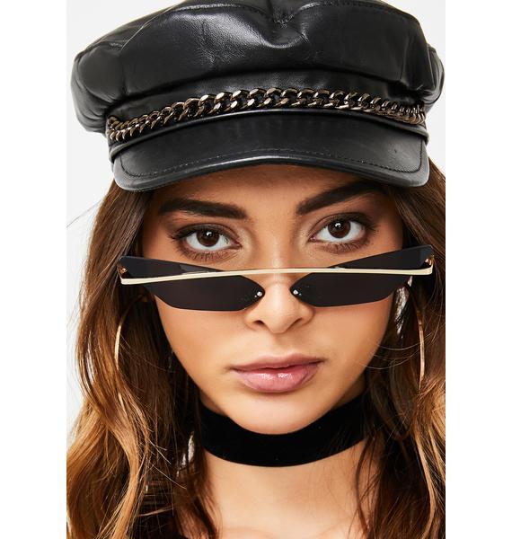 Dark Make Ur Point Tinted Sunglasses