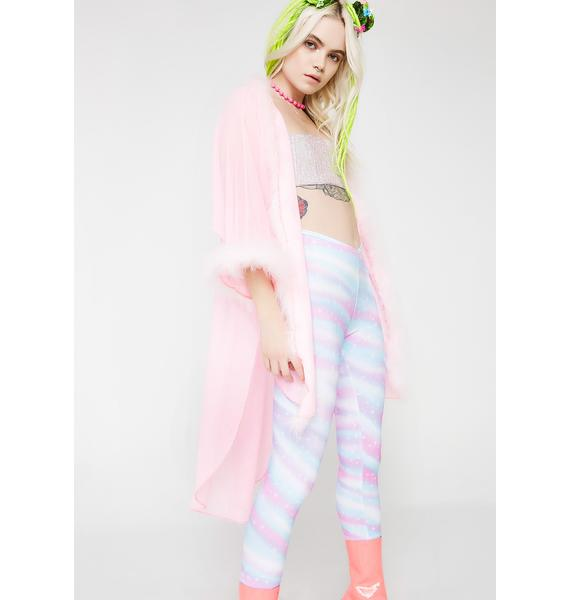Sparkl Fairy Couture Light Pink Fabulous Kimono