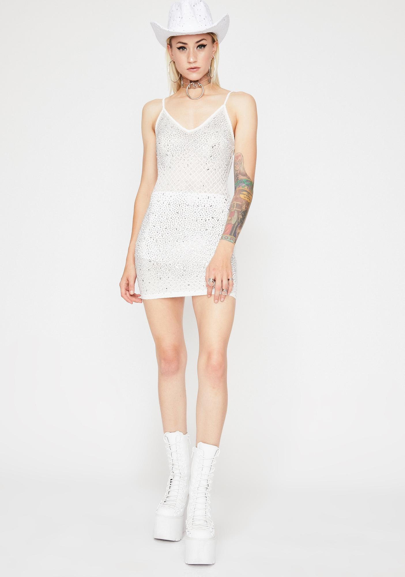 Kiss My Bling Mini Dress