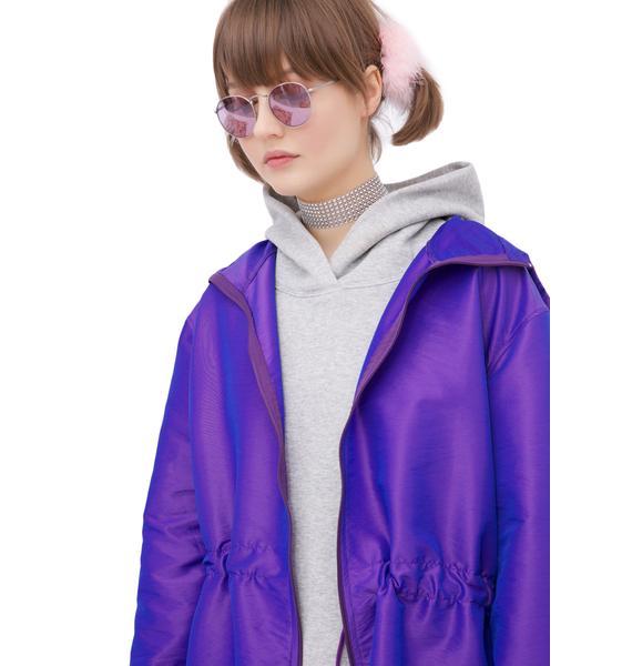 Purple Reign Anorak