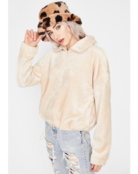 Sand So Unfazed Pullover Jacket