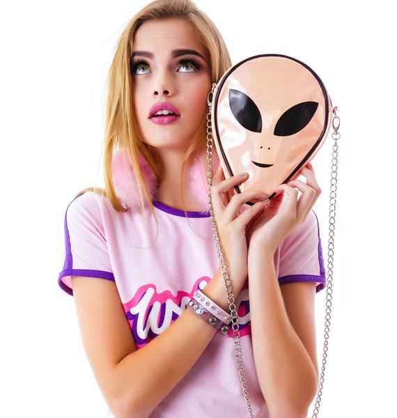 O Mighty The Last Alien Sling Purse