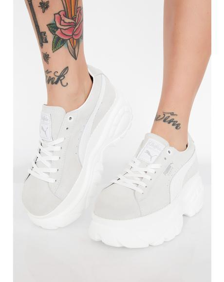 x Buffalo Suede Platform Sneakers