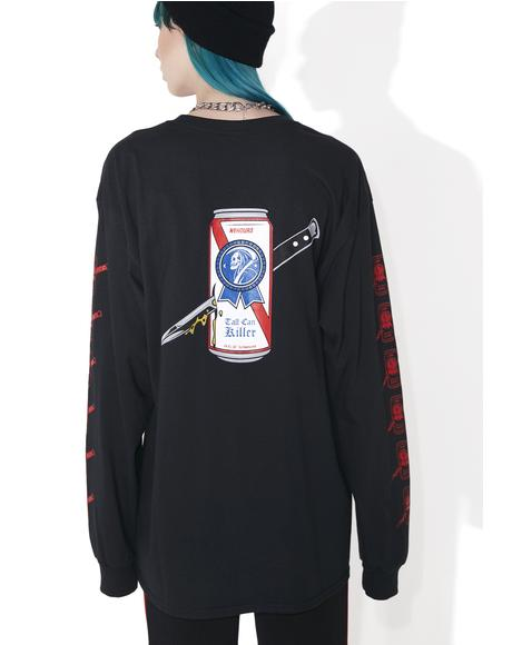 Tall Can Killer Long Sleeve Tee