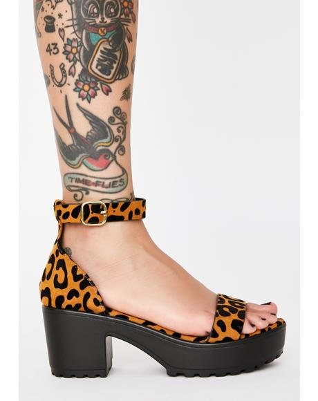 Kitten Get Around Platform Sandals