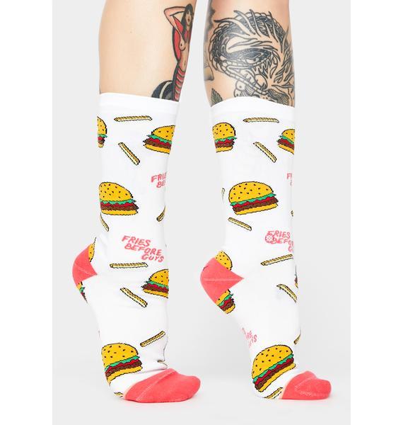 Stance Fries B4 Guys Crew Socks